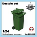 Dustbin set, 1/24