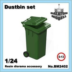 Dustbin set, 1/24