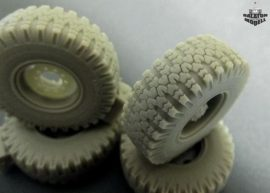 O-47 wheels set for ICM and Trumpeter Ural kit, 1/35