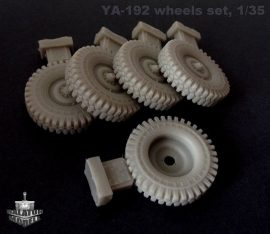 YA-192 wheels set for Bilek and Trumpeter Uaz kits, 1/35