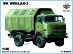 IFA W50 /LAK-2, 1/35 Keletnémet katonai teherautó