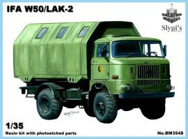 IFA W50 /LAK-2, 1/35 East-German shelter truck