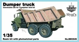 Dumper truck conversion set for Trumpeter Ural kit, 1/35