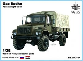 Gaz Sadko light truck, 1/35