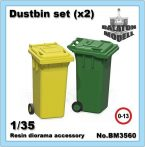 Dustbin set, 1/35
