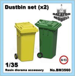 Dustbin set, 1/35