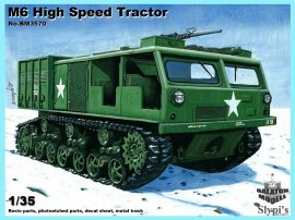 M6 High Speed Tractor (fém lánctalppal), 1/35