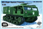 M6 Высокоскоростной трактор, 1/35 с гусеницами T73