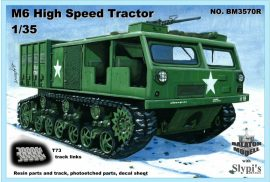 M6 High Speed Tractor, 1/35 with T73 tracks (ww2, resin)