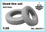 Used tires No.2, 1/35