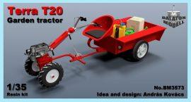 Terra T20, garden tractor, 1/35