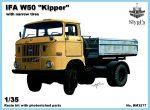 IFA W50 dömper, 1/35  (keskeny gumikkal)