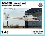 AS-350 air ambulance HUN, 1/48