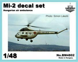 Mi-2 Hungarian air ambulance, 1/48