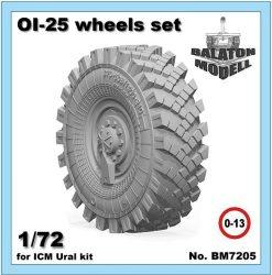 ОИ-25 колеса для ICM Урал модель