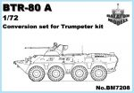 BTR-80 A átalakító a Trumpeter BTR-80 kithez