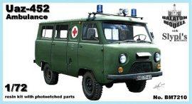 Uaz-452 mentő