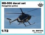 MD-500 Hungarian police markings