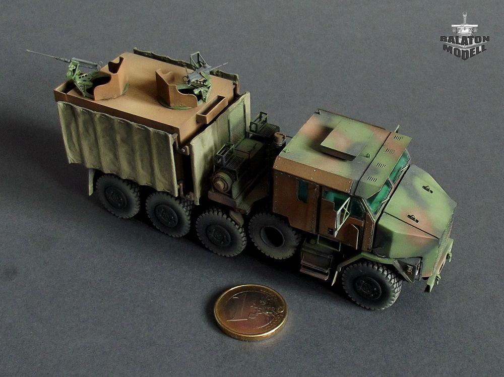 M1070 Gun Truck - Balaton Modell Shop