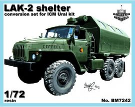 LAK-2 shelter for ICM Ural kit