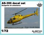 AS-350 air ambulance HUN, 1/72