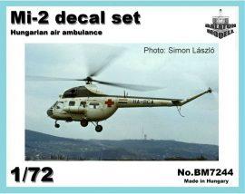 Mi-2 Hungarian air ambulance, 1/72
