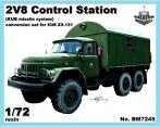2V8 control station for ICM Zil-131 kit