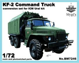 KF-2 command truck for ICM Ural-4320 kit 1/72