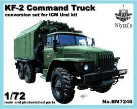 KF-2 command truck for ICM Ural-4320 kit 1/72