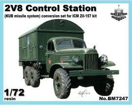 2V8 control station for ICM Zil-157 kit