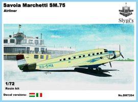 Savoia-Marchetti S.M.75 airliner, 1/72