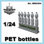 PET bottles, 1/24