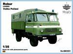 Robur LO2002 Восточно-германский полицейский грузовик, 1/35