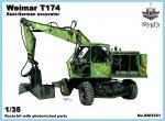 Weimar T-174/2 экскаватор, 1/35