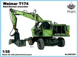Weimar T-174/2 excavator, 1/35