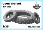 Used tire set, 1/35