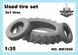 Used tire set, 1/35