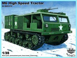 M6 High Speed Tractor (fém lánctalppal), 1/35