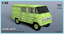 Zuk A15 furgon, 1/35