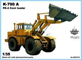 K700A-PK-4 front loader, 1/35