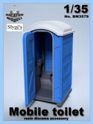 Mobile toilet, 1/35