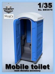 Mobil wc, 1/35