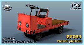 EP001 electric platform, 1/35