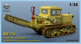 BT-74 Trencher machine, 1/35