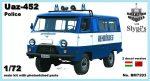 Uaz-452 rendőrségi