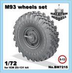 M-93 колеса для ICM ЗИЛ-131 модели