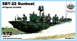 "SBT-22 ""gun boat"", 1/72"
