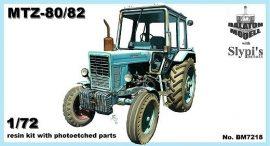 MTZ-80/82 cube cab, 1/72