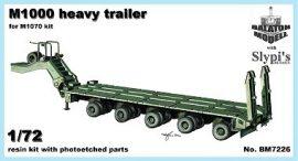 M1000 nehéz pótkocsi