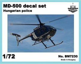 MD-500 rendőrségi jelzések